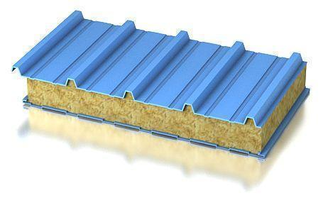 Кровельная трехслойная сэндвич панель с замком ROOF-LOCK
