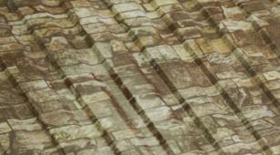 Профнастил С21 0,5 PRINTECH (дерево, камень)